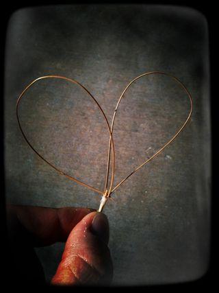 Pine Needle Heart